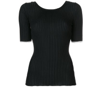 Ribbed Scoop Back Top