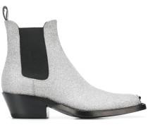 Western-Stiefel mit Glitzer-Finish