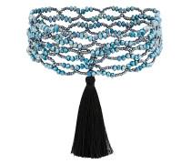 Halskette mit Quasten-Applikation