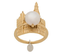 'Brussel's Town Hall and Pearl' Ring