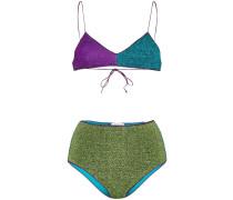 'Lumiere' Bikini in Colour-Block-Optik