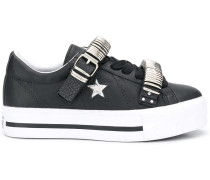 'One Star' Sneakers mit Plateau