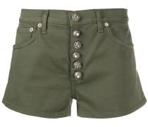Shorts mit geknöpftem Hosenschlitz