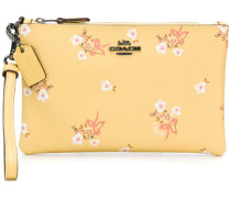 Portemonnaie mit floralem Print