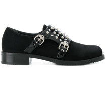 Monk-Schuhe mit Nieten