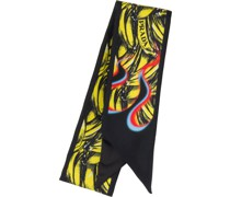 Schal mit Bananen-Print