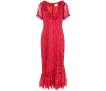 'Michelle' Kleid mit Stern-Print