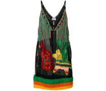 fringed embellished dress