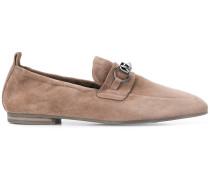 Loafer mit Perlenverzierung