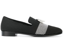 Texturierte 'Shark' Loafer