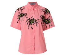 spider print shirt