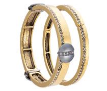 embellished two-bracelets set