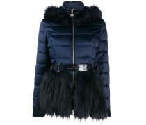 Steppjacke mit Faux Fur