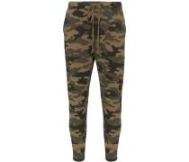'Nolan' Jogginghose mit Camouflage-Print
