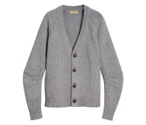 Cardigan in Grobstrick