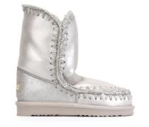 Metallische 'Eskimo' Stiefel
