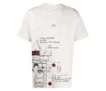 A-COLD-WALL* T-Shirt mit Maschinen-Print