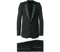 sequin lapel suit