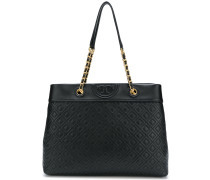 Fleming triple-compartment tote