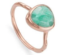 'RP Siren' Ring mit Amazonit