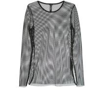 longsleeved mesh jumper