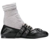 Sock-Ballerinas mit Einsatz