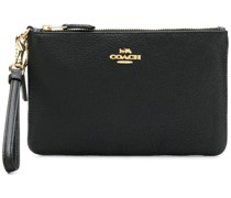 zipped logo wallet