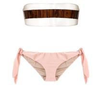 Trägerloser Bikini