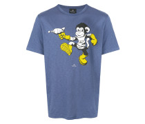 monkey ray gun T-shirt