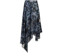 jasmine print handkerchief skirt