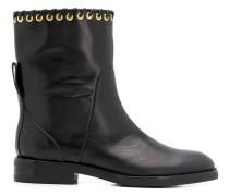 Helen Sierra eyelet detail boots