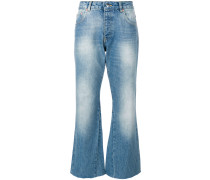 Stella faded wash cropped jeans