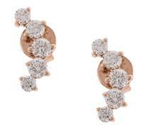 Arc' Ohrstecker mit Diamanten