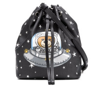 Space Teddy bucket bag