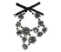 Halskette mit Kristallbesatz