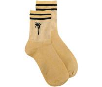 Socken mit Palmen-Print