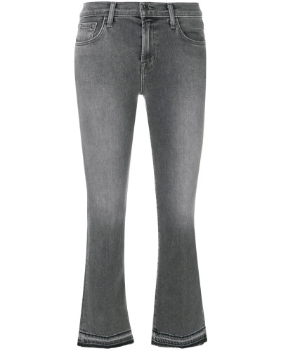 Selena Bootcut cropped jeans