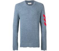 'Kennedy' Intarsien-Pullover