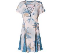 Kleid mit Godet-Saum