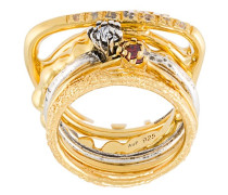 'Silver Heritage' Set aus Ringen