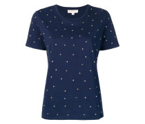 T-Shirt mit Herz-Nieten