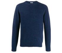 crew-neck knit sweater