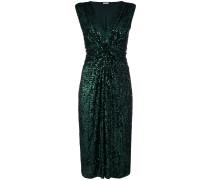P.A.R.O.S.H. sequined knot waisted dress