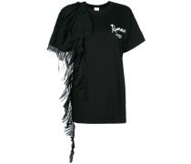 T-Shirt mit Falten