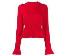 Pullover mit ausgestellten Ärmelenden