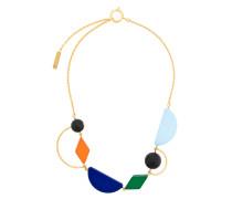 Halskette mit geometrischem Design
