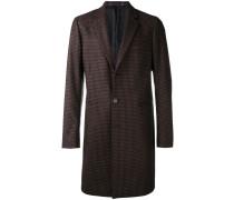 check pattern coat