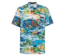 Hemd mit Ozean-Print