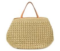 Gewebte Handtasche aus Stroh