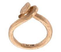 18kt Ring in verschlungenem Design